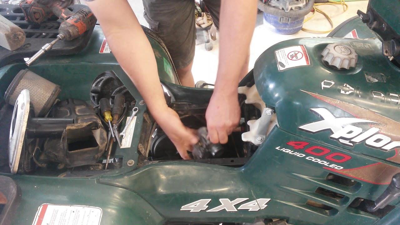 small resolution of rebuilding carburetor on polaris xplorer 400 1 youtube polaris sportsman 400 carb diagram polaris 400 carburetor diagram