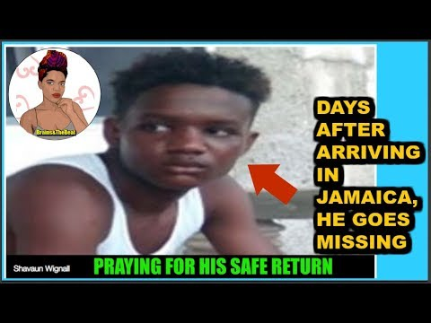 He Is Missing Days after Arriving in JAMAICA