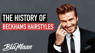 David Beckham Hairstyles: From WORST to BEST | Mens Hair Advice 2018