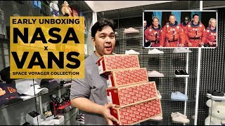 "NASA x VANS ""SPACE VOYAGER"" PACK EARLY UNBOXING!!!"