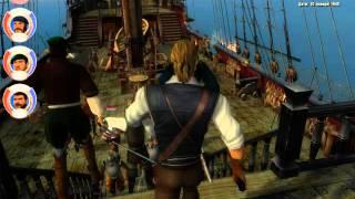 Корсары 3. Захват нормального корабля в начале игры.