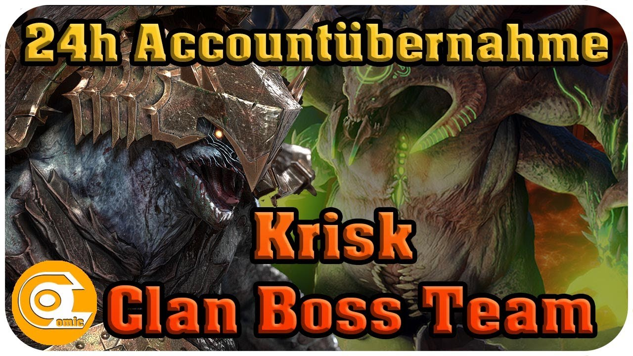 Download Krisk Clan Boss Team kein Slow Tune | 24h Accountübernahme | RAID Shadow Legends | Ocomic