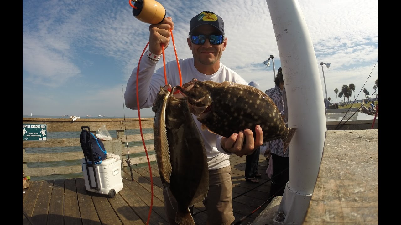 Flounder fishing seawolf park 1080p hd youtube for Seawolf park fishing report