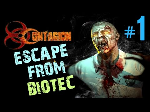 Contagion Gameplay Part 1 | Escape from Biotec | No commentary Let's play- PC 1080p 60fps