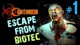 Contagion Gameplay Part 1 | Escape from Biotec | No commentary Let