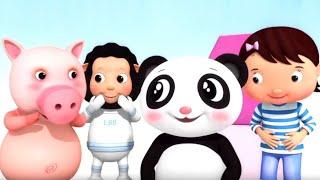 Мультики для самых маленьких. Развивающие мультфильмы Песенки Литл Бэйби Бам: цвета, формы, счет
