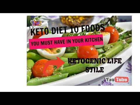 Keto dieting 10 foods you must have in your kitchen