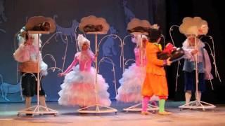 Московский театр кошек Куклачева на биробиджанской сцене
