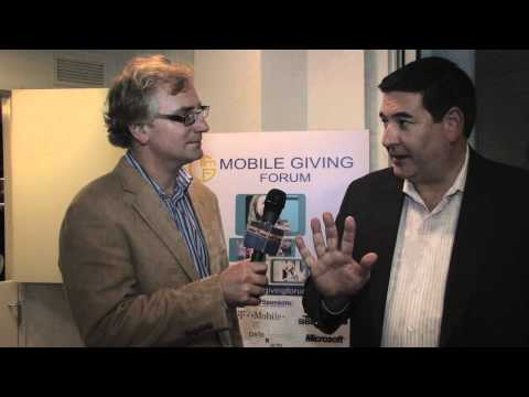 bnetTV interviews Scanbuy at the Mobile Giving For...