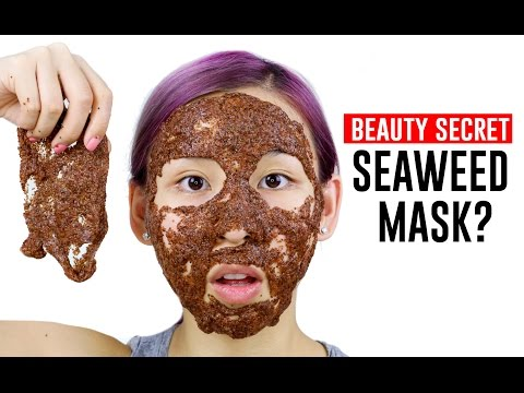 Seaweed Algae Mask- Tina Tries It
