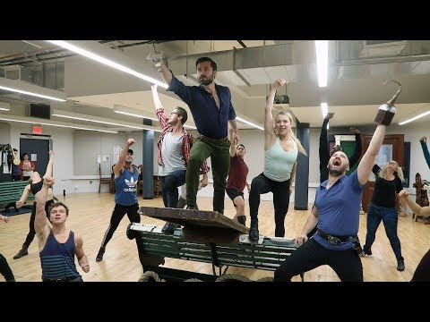 Watch the Touring Cast of FINDING NEVERLAND Make Believe in Rehearsal