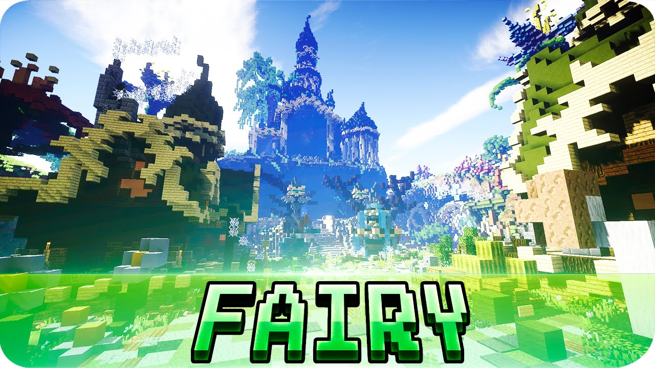 Minecraft the fairy city map w download youtube minecraft the fairy city map w download gumiabroncs Image collections