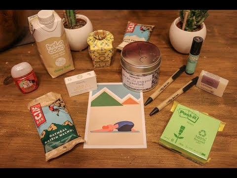 The Really Good Box Unboxing I Vegan Organic Eco Friendly Subscription Box