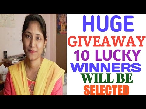 10 LUCKY WINNERS GETS KITCHEN PRODUCTS  HUGE GIVEAWAY ANNOUNCEMENT