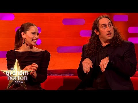 Emilia Clarke Cannot Handle Ross Noble's Nativity Story   The Graham Norton Show