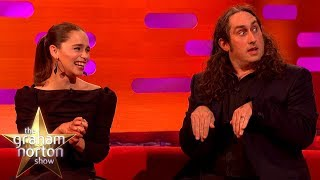 Emilia Clarke Cannot Handle Ross Noble's Nativity Story | The Graham Norton Show