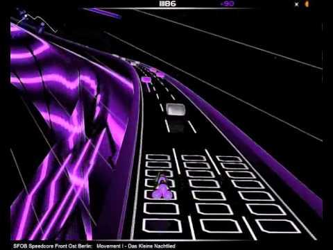 "SFOB - Speedcore Symphonia Part I ""Das kleine Nachtlied"" @ Audiosurf"