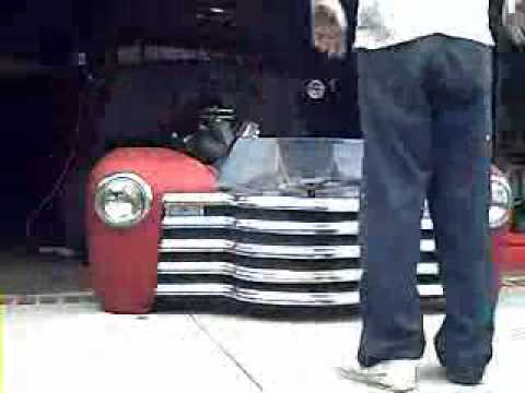 1952 Chevy Truck I F S Day 1 Remove The Front Clip And
