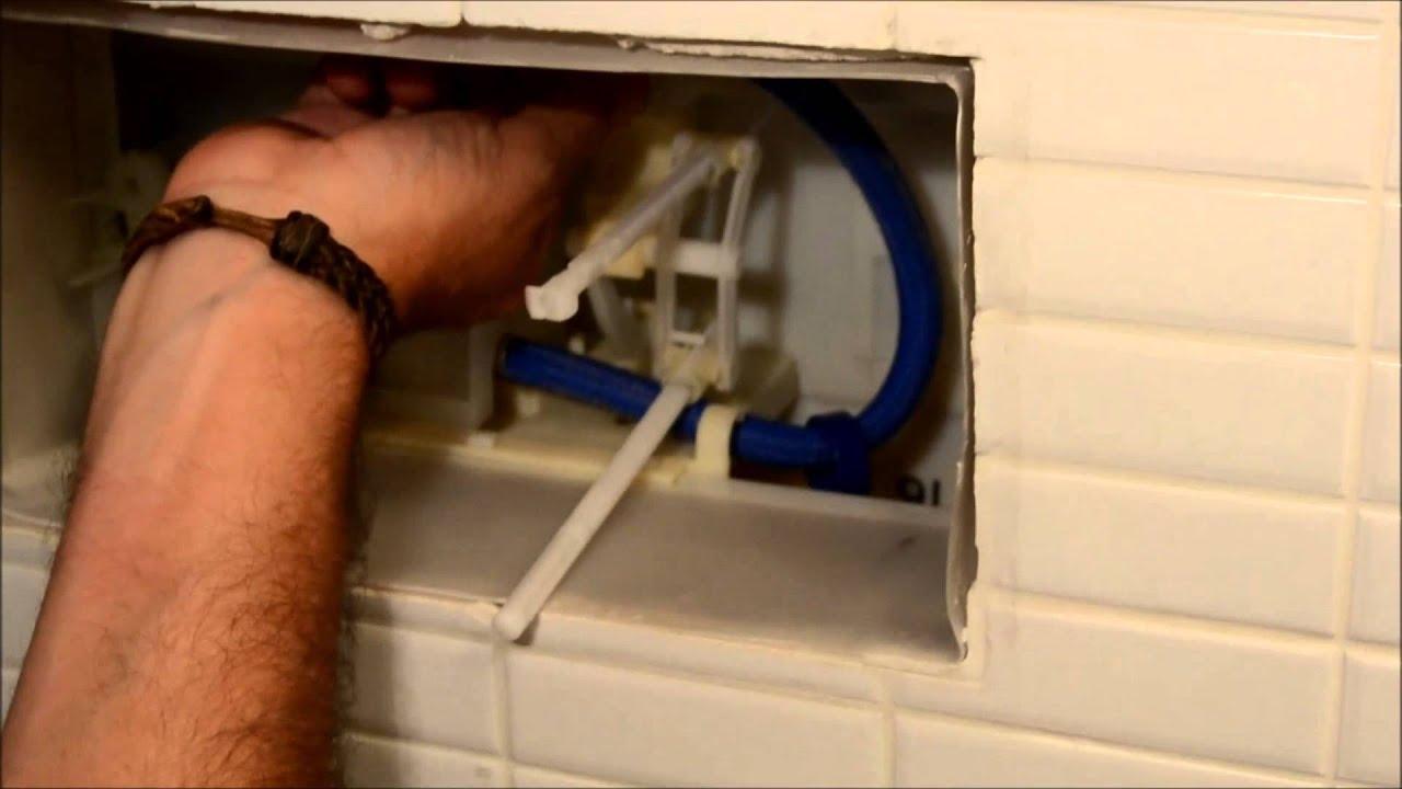 arreglar cisterna empotrada roca youtube