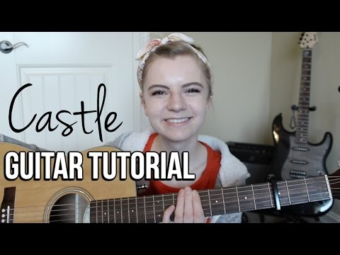 Castle - Halsey | EASY GUITAR TUTORIAL