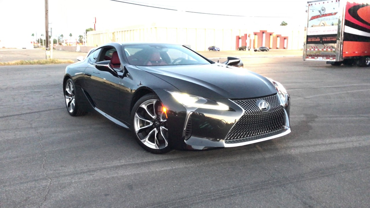 Exclusive! 2017 Lexus LC 500 Walkaround at SEMA 2017 (4k ...