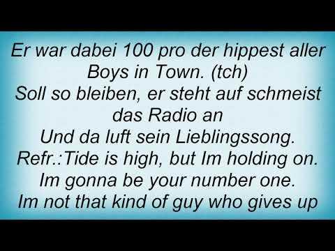Seeed - Tide Is High Lyrics
