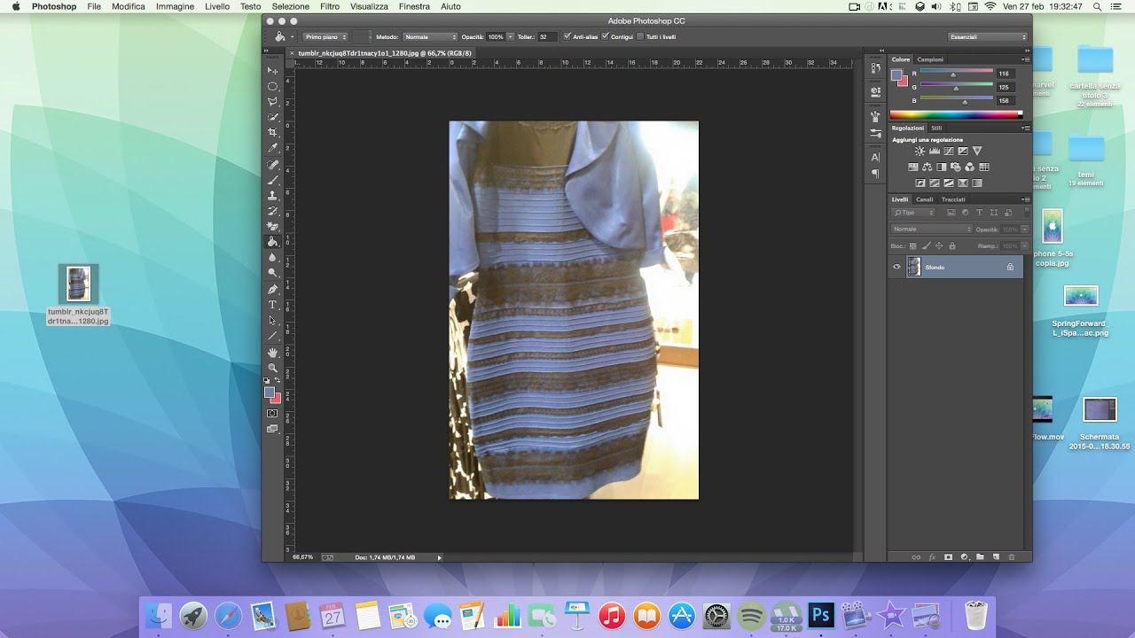 best service d589f bc76d Risolto il mistero del colore del vestito: bianco-oro o blu-nero?