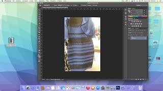 Risolto il mistero del colore del vestito: bianco-oro o blu-nero?