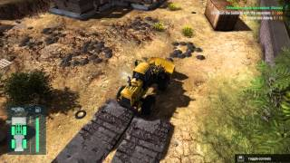 Lets Play Construction Machines Simulator 2016 part 2
