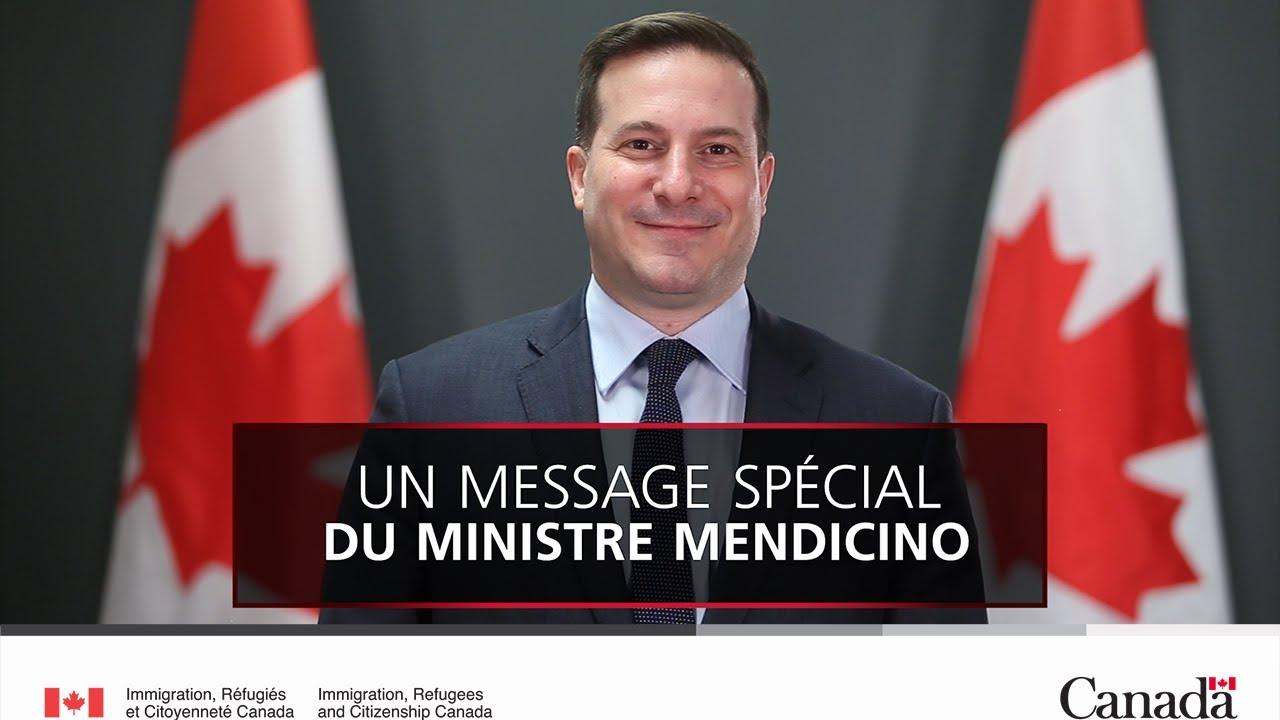 Message du ministre Mendicino à l'occasion du Holi