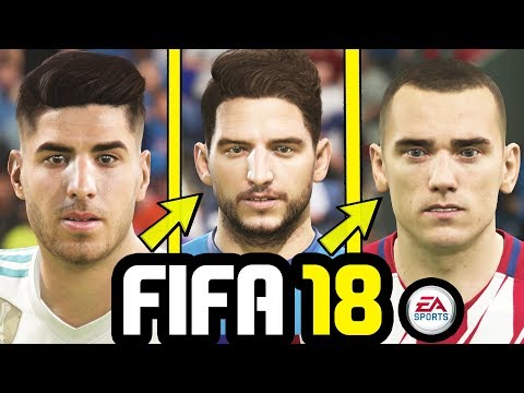 45 AMAZING NEW FACES ADDED TO FIFA 18 - FIFA 18 Update (June 2018)