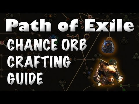 Path of Exile Orb of Chance Guides - u4gm com