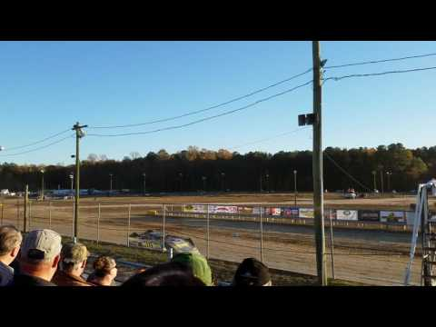 11-5-2016 Georgetown Speedway Crate 2nd heat race