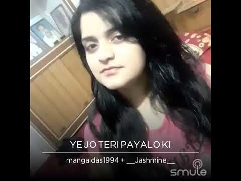Yeh Jo Teri Payalon Ki Chan Chan Hai original by Abhijeet and Sadhana / covered by Mangal and Jasmin