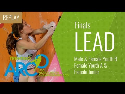 IFSC World Youth Championships Arco 2015 - Lead Finals (PART 1)