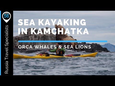 Sea Kayaking in Kamchatka, Siberia, Far East, Russia.