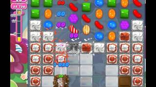 Candy Crush Saga Level 1221 (No booster, 3 Stars)