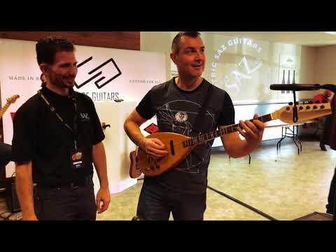 The SazCo SN_X1 Electric Saz Guitar Launch