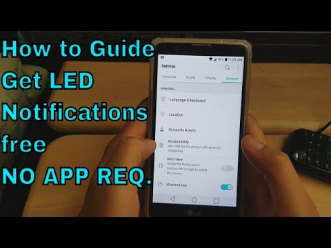 How to Enable LED Flash Alerts On Any Android Smartphone (HD)
