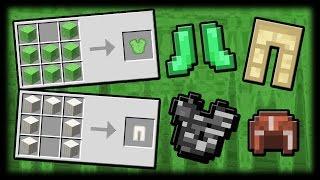Броня Из Любых Блоков! - Block Armor Mod Майнкрафт