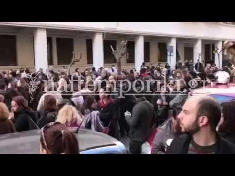 Διαμαρτυρία φορέων ειδικής αγωγής στο υπ. Υγείας