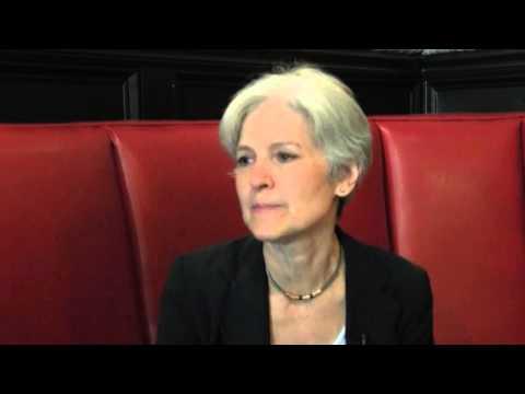 2016 Green Party Presidential Candidate Jill Stein Interview Sweet Auburn District, Atlanta