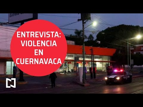 Entrevista con Srio de Morelos, Pablo Ojeda: Balacera en Terminal de Cuernavaca