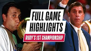 #20HoopClass Inductee Rudy Tomjanovich Leads Houston To First NBA Championship