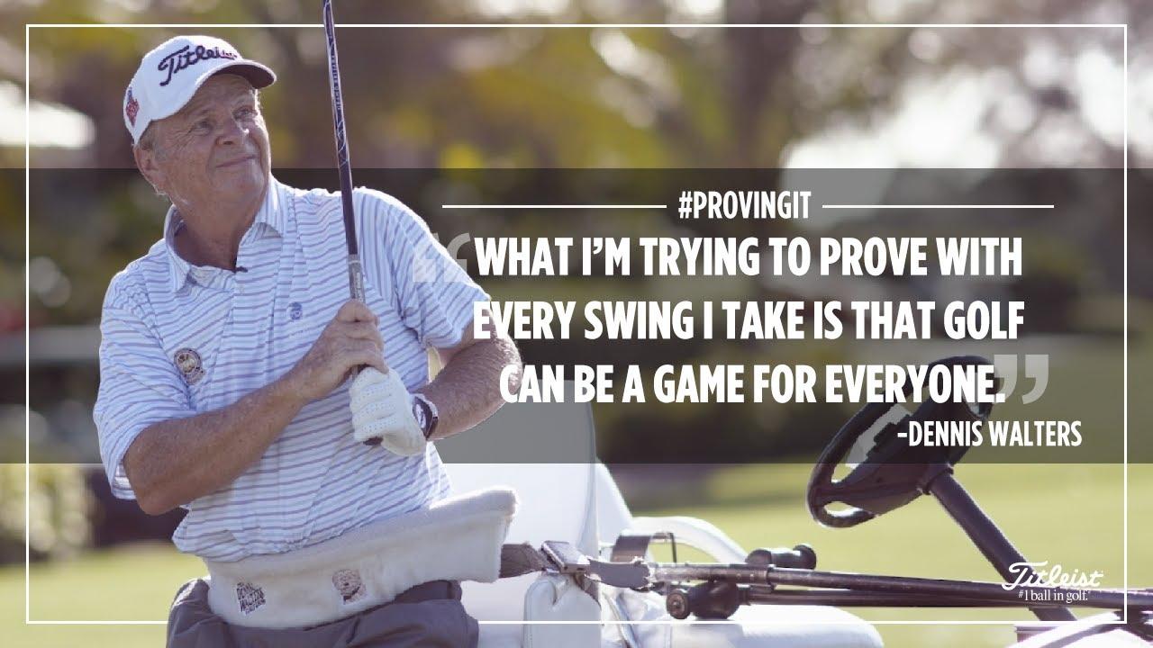 Dennis Walters: #ProvingIt