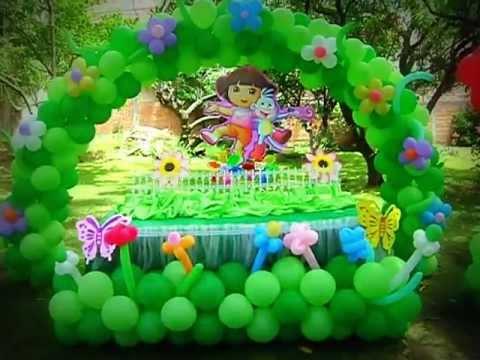 Globo fiesta 39 39 una fiesta sin decoraci n es un simple for Decoracion para un jardin infantil