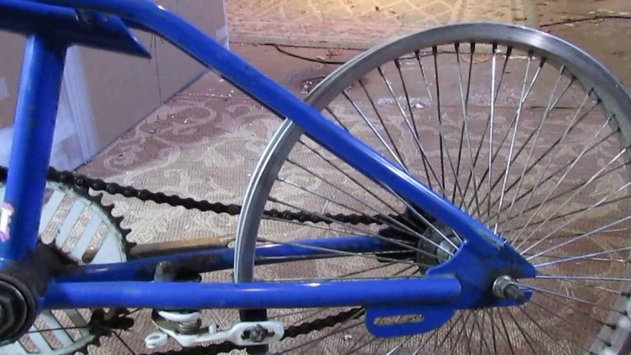 Rare 1988 Gt Performer Bmx Bike Original Blue Paint Pink