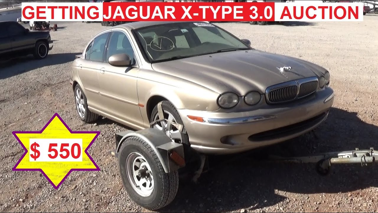 Getting 2003 Jaguar X Type 3.0 At The Auction For A Ridiculous Price