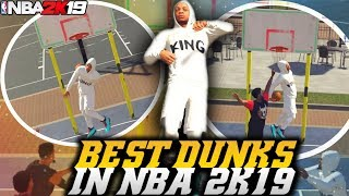 NBA 2K19 Park: BEST DUNKS IN NBA 2K19 - WTF! NBA 2K19 Park Gameplay