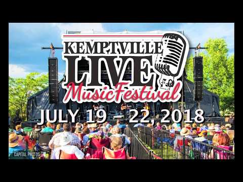Getting to the 2018 Kemptville Live Music Festival
